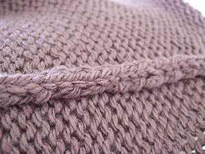 cardigan inside seam