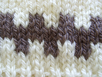 brown pattern