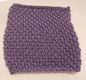 Rose Stitch square