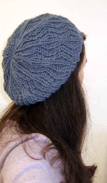 Cable Knit Beret Pattern Patterns Gallery