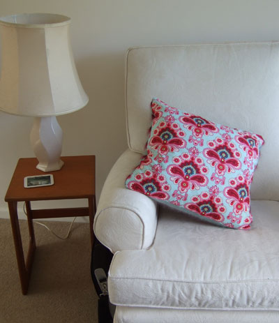 amy butler fabric cushion cover