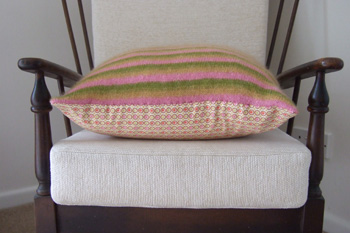mum's cushion side on