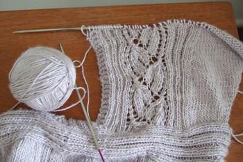 tunic lace panel