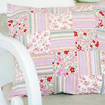 patchwork cushion pattern