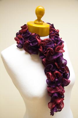 rico can can yarn purple mix