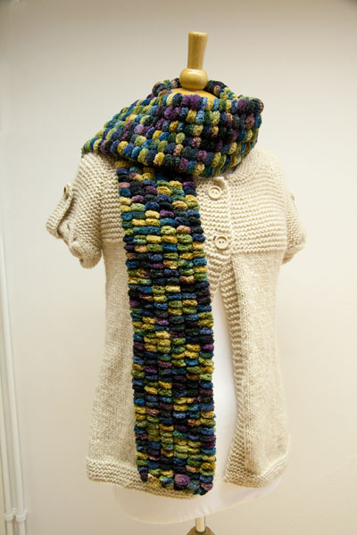 Rico Pompon scarf