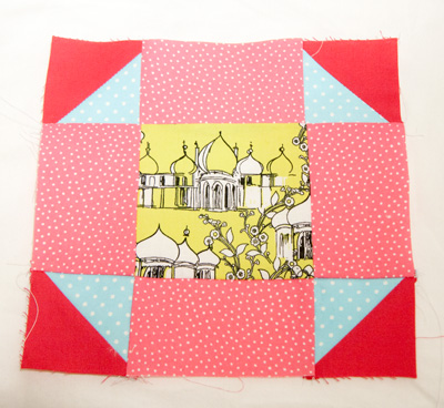 art of quilting block 4