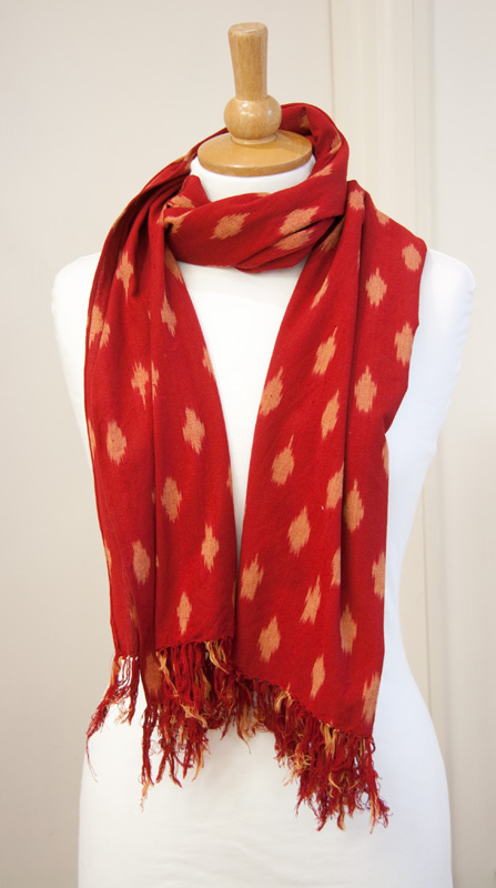midwinter reds scarf