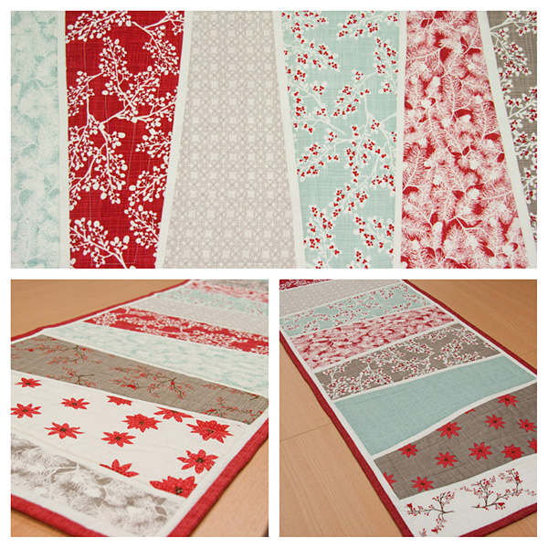 winter's lane table runner
