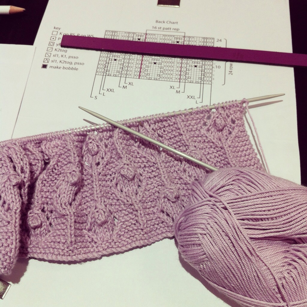 Hellebore knitting
