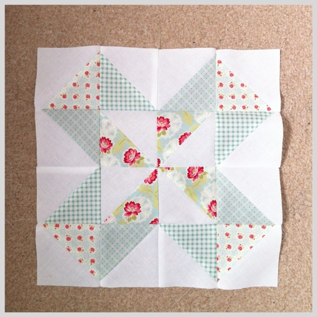 Dutch pinwheel block
